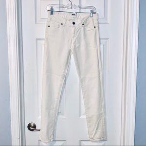 PAIGE 27 white jeans